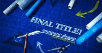 blueprint-titles-27895140-1 Download Aftereffect & premiere Templates - Results from #80